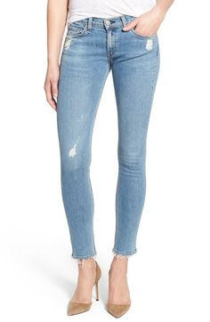 rag & bone/JEAN Destroyed Skinny Jeans (Everton) available at #Nordstrom