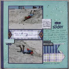 Joni used Authentique's Suave Line for this layout. frosted-designs.com