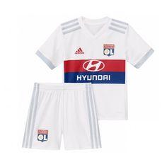 cheap for discount 9f73f 8728b Maillot Olympique Lyonnais Enfant 2017-2018 Domicile Lyon Homes, Soccer  Kits, Soccer Gear