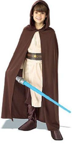 Star Wars Child`s Hooded Jedi Robe, Medium
