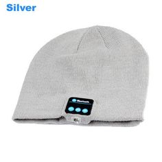 Bluetooth Earphone Hat for iPhone or Samsung Android Phones Men Women