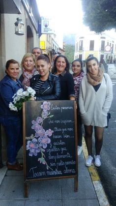 Con la familia Martel...Carmen Delia, Karina, Tere, Marina, Sara, Beatriz y Alejandro