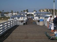 Crystal Pier Cottages, Pacific Beach, CA  (San Diego county)