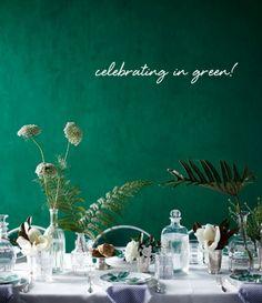 Pantone's Emerald | Plum Pretty Sugar