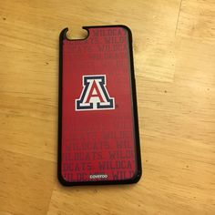 UofA Wildcats iPhone 5c case 5c case! Coveroo iPhone case is a bit broken but doesn't effect how the case fits and protects the phone. Accessories Phone Cases