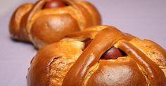 Portuguese easter bread - folar da pascoa