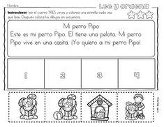 Secuencias con dibujos para los más pequeños - Primavera Kindergarten, Spanish Classroom, Education, Food, Texts, Frases, Reading Activities, Reading Club, Reading Comprehension
