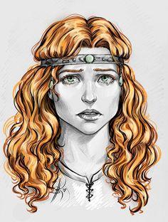 Visenna by Anastasia Kulakovskaya (Witcher)