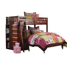 Wildon Home ® Dakota Twin over Full Bunk Bed with Storage & Reviews | Wayfair