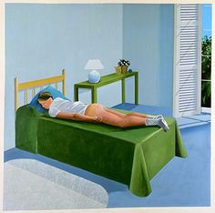David Hockney, The Room Tarzana, 1967