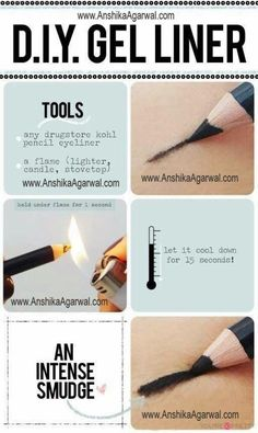 how to make liquid eyeliner