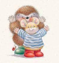 country companions - Kate Veale. Edward the hedgehog.