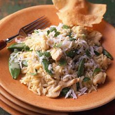 Coconut curry chicken or turkey {one of my favorites, smells divine}