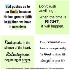 God is SO POWERFUL! We have been having a few troubles in our home and I truly believe that God has a plan! I know that if we hand our troubles over to him then he will help us get through the hard times! But let's be realistic sometimes it is so hard and even though you pray and hand it over to God, you feel like he is not listening! You start to give up and give in to the temptation of evil knowing that is not the right thing to do and then BAM! Your scrolling through Tumbler and God jumps…