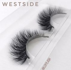 """#LuxyLash """"WESTSIDE"""" Mink Lashes. The original, cruelty-free premium mink lashes! Reusable up to 25x! Get 30% off entire lash collection throughout NOVEMBER 2016 only. Enter promo code NOV30 at checkout! SHOP: www.luxy-lash.com"""