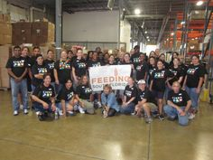 Thanks to Cigna for sending a great volunteer team today!