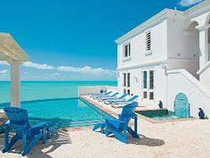 Villa Roi Soleil ,Turks and Caicos, Outstanding Beach front Villa