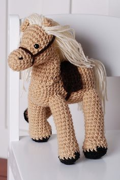This is my Crochet Horse! I love these guys!