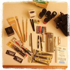 #japon #tokio #sekaido #tools Raiders, Sketching, Motors, 4x4, Atvs, Watercolor Pencils, Draw