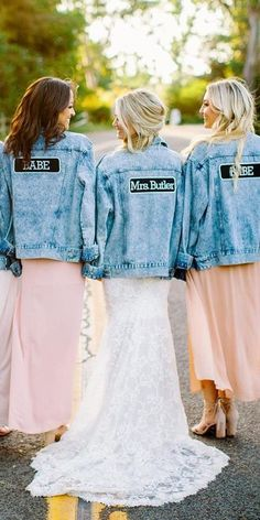 Hottest Trend 2019: 18 Wedding Jackets ♥ Wedding jackets are one of this year's hottest trends and we just can't get over how cool the brides are who rock them! It's perfect choice for brides who #wedding #bride #weddingdresses