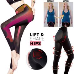 4b8bd415136 Women Body Shaper Sleep Leg Pants Slimming High Waist Legging Socks  Shapewear  fashion  clothing