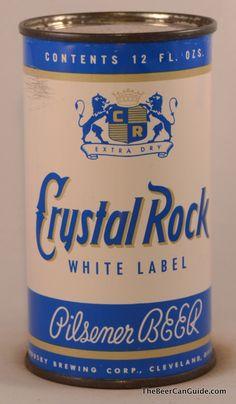 Crystal Rock Pilsener Beer, Cleveland