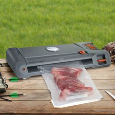 Father's Day is coming up, and the FoodSaver® GameSaver® Vacuum Sealing System is the perfect gift for the hunter or fisher in your life! Order yours now! #FathersDay #FoodSaver