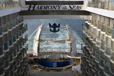 Royal Caribbean's Harmony of the Seas, one of the most anticipated new cruise ships in 2016, is exactly two monthsaway from the ship's debut on May 22, 2016. Royal Caribbean has released a new video giving a construction update of the 3rd Oasis Class ship. The ship is the largest cruise ship eve…