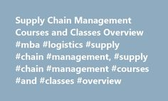 Supply Chain Management Courses and Classes Overview #mba #logistics #supply #chain #management, #supply #chain #management #courses #and #classes #overview http://bahamas.nef2.com/supply-chain-management-courses-and-classes-overview-mba-logistics-supply-chain-management-supply-chain-management-courses-and-classes-overview/  # Supply Chain Management Courses and Classes Overview Essential Information Supply chain management courses are included in associate and bachelor's degree programs in…