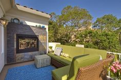 This outdoor living room in Napa, CA is ideal for relaxing with family & friends.