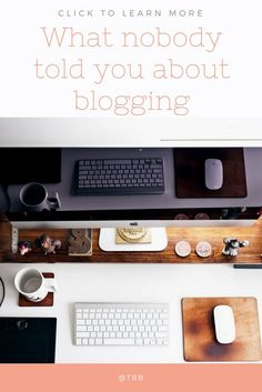 Want to know what nobody told you about blogging? The mistakes you still make? Then check out this blogpost full of blogtips for beauty, travel, lifestyle, fashion and all sort of bloggers!