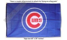 $16.99 GREAT New BASEBALL CHICAGO CUBS MLB FLAG BANNER 3x5ft