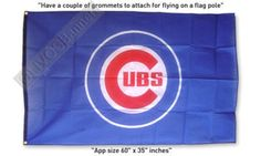 $16.99 GREAT New BASEBALL CHICAGO CUBS MLB FLAG BANNER 3x5ft
