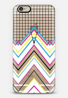 """80"""" Chevy Grid Transparent #3 iPhone 6s case by Project M 