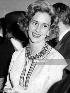 Picture released in the 60s of Queen Fabiola of Belgium.