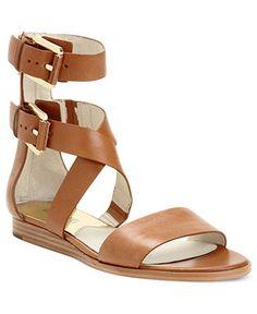 MICHAEL Michael Kors Shoes, Josephine Flat Sandals - Shoes - Macys