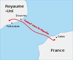 06/05/1994 : inauguration du tunnel sous la Manche par Élisabeth II et François Mitterrand.