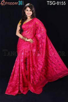 Silk all over Jamdani
