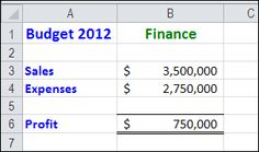 Switch between values with Excel Scenarios; no programming