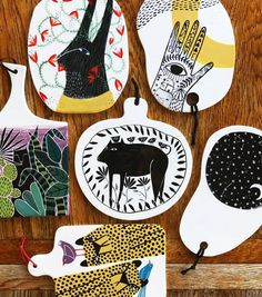 Illustrated Ceramics by Studio Soph - ArtisticMoods.com