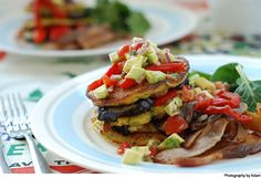 Corn and courgette fritters « Cooking Blog – Find the best recipes, cooking and food tips at Our Kitchen.
