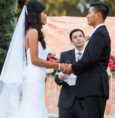 The Blessing of the Marriage is the conclusion to a wedding ceremony and comes just before the bride and groom are pronounced husband and wife.