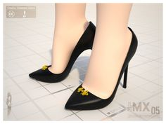 MX0005 Reload - High-heel 120mm by jihemx.deviantart.com on @deviantART