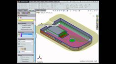 Solidworks Tutorial, Autodesk Inventor, Mould Design, My Job, Video Tutorials, Autocad, Hello Everyone, Surface, Technology
