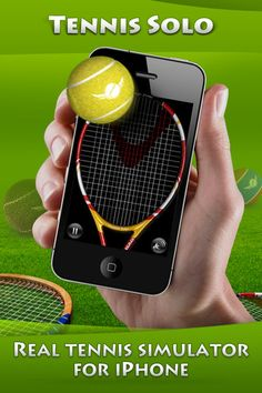 TennisSolo - This app is a new game of precision and balance that let's you bounce your tennis ball on your racquet up into the air, catching it on your racquet over and over again as many times as you can. It's also deceptively simple, in the best kind of way. It's easy to pick up and play anywhere, and it's so darn addictive and easy to keep playing that before you know it you're hundreds of bounces in to an epic match. The three-dimensional feel of this app is pretty special and easy to…