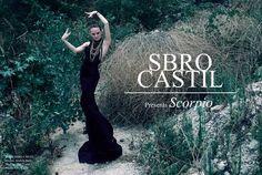 SBRO CASTIL: Scorpio by Sbro Castil, via Behance.