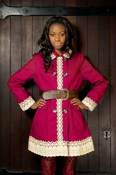 Stunning Pink Coat Size: 10 Model: Peppa Dee Photography: PixBeat Photo