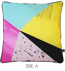 Tassel and Gaine cushion Printed Cushions, Next At Home, Bed Furniture, Pillows, Interior, Tassel, Prints, Colour, Bedroom