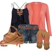 150 pretty casual shorts summer outfit combinations (105)