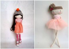 Modelos de muñecas bonitas de tela (2)